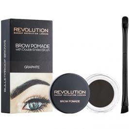 Makeup Revolution Brow Pomade szemöldök pomádé árnyalat Graphite 2,5 g