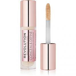 Makeup Revolution Conceal & Define folyékony korrektor árnyalat C1 3,4 ml