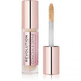 Makeup Revolution Conceal & Define folyékony korrektor árnyalat C3 3,4 ml