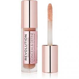Makeup Revolution Conceal & Define folyékony korrektor árnyalat C11 3,4 ml