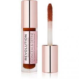 Makeup Revolution Conceal & Define folyékony korrektor árnyalat C16 3,4 ml