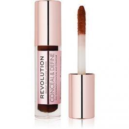 Makeup Revolution Conceal & Define folyékony korrektor árnyalat C17 3,4 ml