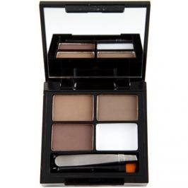 Makeup Revolution Focus & Fix szett a tökéletes szemöldökért árnyalat Medium Dark 4 g