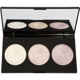 Makeup Revolution Highlight élénkítő púderek palettája  15 g