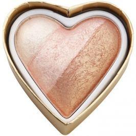Makeup Revolution I ♥ Makeup Blushing Hearts arcpirosító árnyalat Iced Hearts 10 g