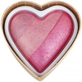 Makeup Revolution I ♥ Makeup Blushing Hearts arcpirosító árnyalat Blushing Heart 10 g
