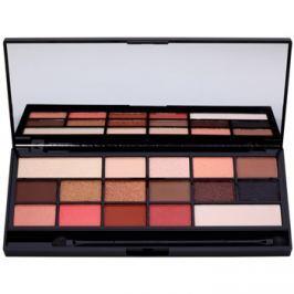 Makeup Revolution I ♥ Makeup Chocolate Vice szemhéjfesték paletták tükörrel és aplikátorral  22 g