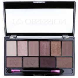 Makeup Revolution I ♥ Makeup I ♥ Obsession Palette szemhéjfesték paletták (Pure Cult) 17 g