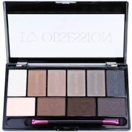 Makeup Revolution I ♥ Makeup I ♥ Obsession Palette szemhéjfesték paletták (Born To Die) 17 g