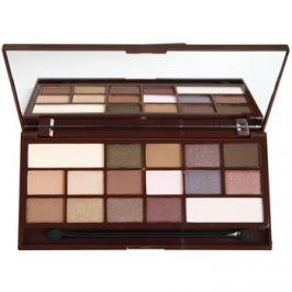 Makeup Revolution I ♥ Makeup I Heart Chocolate szemhéjfesték paletták tükörrel és aplikátorral árnyalat I Heart Chocolate  22 g