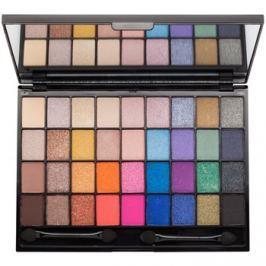Makeup Revolution I ♥ Makeup Makeup Geek szemhéjfesték paletták tükörrel és aplikátorral  28 g