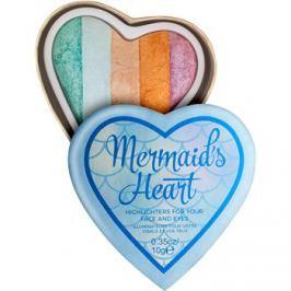 Makeup Revolution I ♥ Makeup Mermaid's Heart bőrélénkítő arcra és szemre  10 g