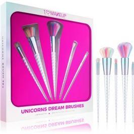 Makeup Revolution I ♥ Makeup Unicorns Dream ecset szett  5 db