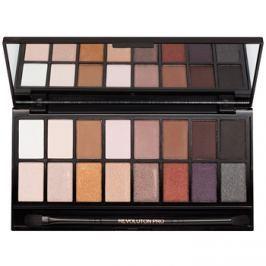 Makeup Revolution Iconic Pro 1 szemhéjfesték paletták tükörrel és aplikátorral  16 g