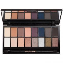 Makeup Revolution Iconic Pro 2 szemhéjfesték paletták tükörrel és aplikátorral  16 g