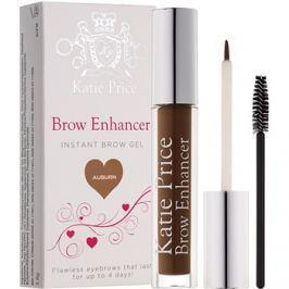 Makeup Revolution Katie Price fixáló gél szemöldökre árnyalat Auburn 3,8 g