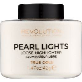 Makeup Revolution Pearl Lights gyengéd élénkítő árnyalat True Gold 42 g