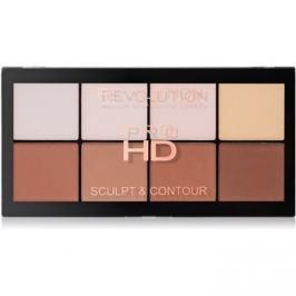 Makeup Revolution Pro HD Sculpt & Contour arckontúr paletta  15 g