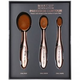 Makeup Revolution Pro Precision Brush kontúrozós ecset szett  3 db