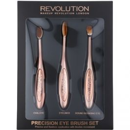 Makeup Revolution Pro Precision Brush ecset szett szemre  3 db
