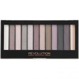 Makeup Revolution Romantic Smoked szemhéjfesték paletták  14 g