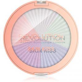 Makeup Revolution Skin Kiss bőrélénkítő arcra és szemre árnyalat Dream Kiss 14 g