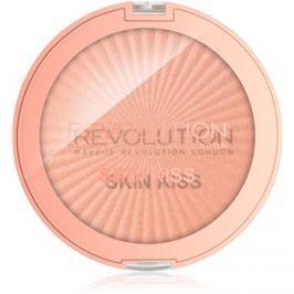 Makeup Revolution Skin Kiss bőrélénkítő arcra és szemre árnyalat Rose Gold Kiss 14 g