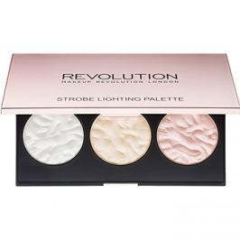 Makeup Revolution Strobe Lighting bőrvilágosító paletta  11,5 g