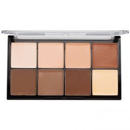 Makeup Revolution Ultra Pro HD Light Medium krém paletta az azr kontúrjaira  20 g