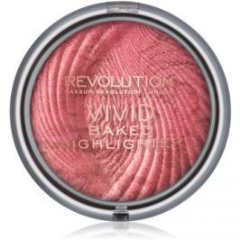 Makeup Revolution Vivid Baked kemencében sült élénkítő púder árnyalat Rose Gold Lights 7,5 g