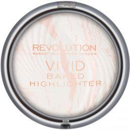Makeup Revolution Vivid Baked kemencében sült élénkítő púder árnyalat Matte Lights 7,5 g