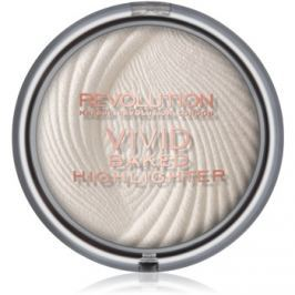 Makeup Revolution Vivid Baked kemencében sült élénkítő púder árnyalat Golden Lights 7,5 g