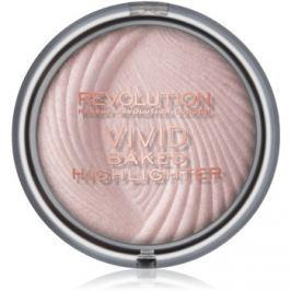 Makeup Revolution Vivid Baked kemencében sült élénkítő púder árnyalat Peach Lights 7,5 g