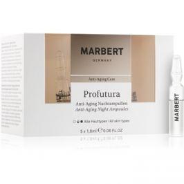 Marbert Anti-Aging Care Profutura éjszakai ampullák a bőröregedés ellen  5 x 1,8 ml