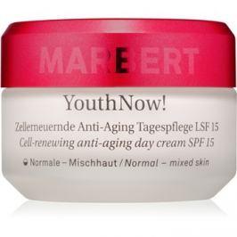 Marbert Anti-Aging Care YouthNow! könnyed nappali ráncellenes krém az arcsejtek revitalizálására SPF15  50 ml