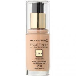 Max Factor Facefinity make-up 3 az 1-ben árnyalat 35 Pearl Beige  30 ml
