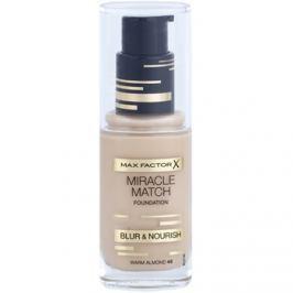 Max Factor Miracle Match folyékony make-up hidratáló hatással árnyalat 45 Warm Almond 30 ml
