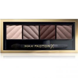 Max Factor Smokey Eye Matte Drama Kit szemhéjfesték paletták árnyalat 30 Smokey Onyx