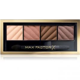 Max Factor Smokey Eye Matte Drama Kit szemhéjfesték paletták árnyalat 10 Alluring Nude