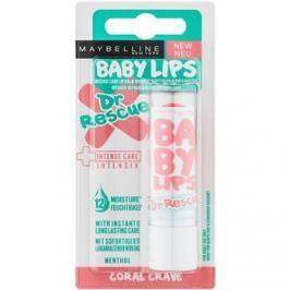 Maybelline Baby Lips Dr Rescue hidratáló ajakbalzsam hűsítő hatással árnyalat Coral Crave 4,4 g