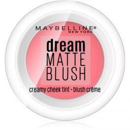 Maybelline Dream Matte Blush matt krémes arcpírositó árnyalat 10 Flirty Pink 6 g