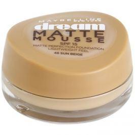 Maybelline Dream Matte Mousse mattító make-up árnyalat 48 Sun Beige 18 ml