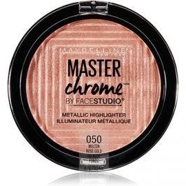 Maybelline Master Chrome élénkítő árnyalat 05 Rose Gold 8 g