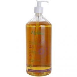 Melvita Hair extra enyhe tusoló sampon hajra és a testre Fig & Kiwi 1000 ml
