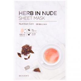 Missha Herb in Nude arcmaszk tápláló hatással  23 g