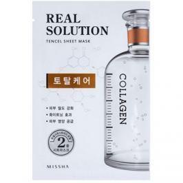 Missha Real Solution komplex ápoló arcmaszk  25 g