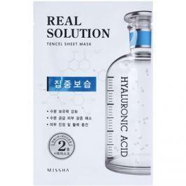 Missha Real Solution arcmaszk hidratáló hatással  25 g