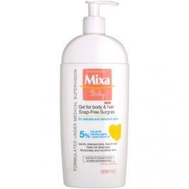 MIXA Baby tusfürdő gél és sampon 2 in 1 gyermekeknek  400 ml