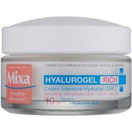 MIXA Hyalurogel Rich intenzíven hidratáló nappali krém hialuronsavval  50 ml