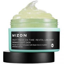 Mizon Enjoy Fresh-On Time revitalizáló maszk limemmal a száraz és fáradt bőrre  100 ml